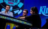 Ο Αλέξανδρος Κολώνιας τελικό τραπέζι του WSOPE 2019 Main Event